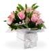 Box Arrangement of Roses & Alstromeria