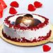 Velvety Photo Cake 1 Kg Black Forest Cake