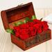 Red Roses Treasure Box