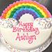Rainbow Birthday Cake 1.5 Kg