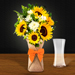 Sunflower Galore Bunch With Vase