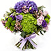 Roses and Hydrangeas Hand Tied Bunch SG