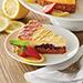 Lemon Strawberry Cheesecake