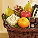 Vintage Gourmet Fruit & Cheese Gift Basket